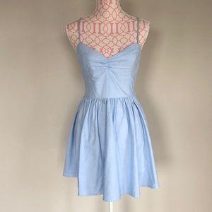 American Apparel blue summer dress